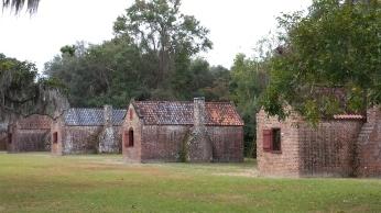 Rear Slave Cabins View