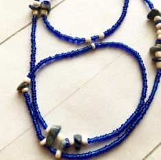 Lapis Lazuli African Waist Beads