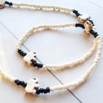 Elephant African Waist Beads