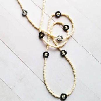 Hematite African Waist Beads