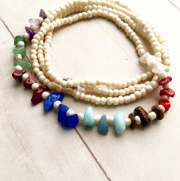Chakra African Waist Beads